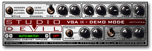 Virtual Guitar Amp II